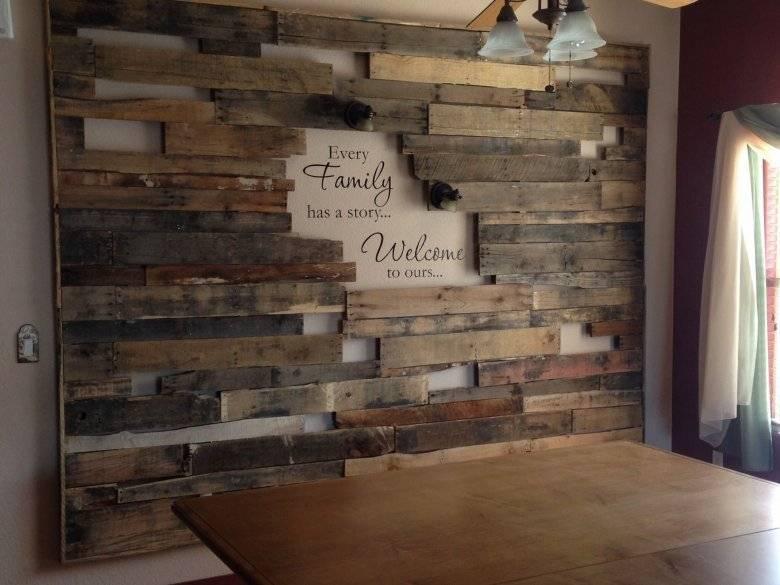 Дерево на стене: важные советы и готовые идеи отделки (50 фото)