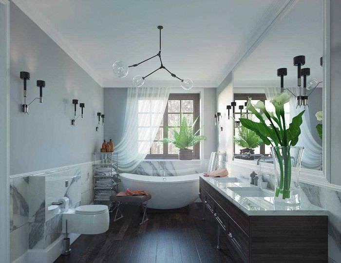 Яркие современные идеи дизайна маленькой ванной комнаты в 2020-2021 году: 50 фото