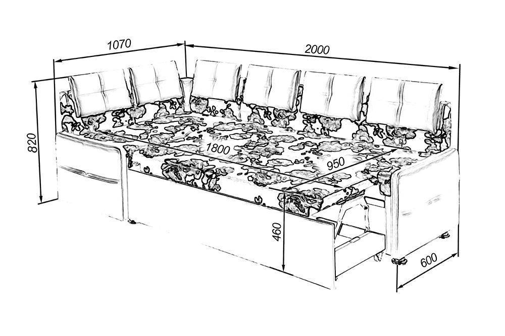 Диван на кухню своими руками (49 фото): особенности изготовления