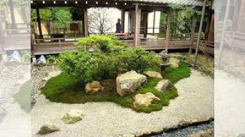 Миниатюрный сад камней суисэки