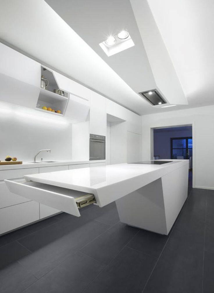 Кухня в стиле хай тек — примеры оформления интерьера