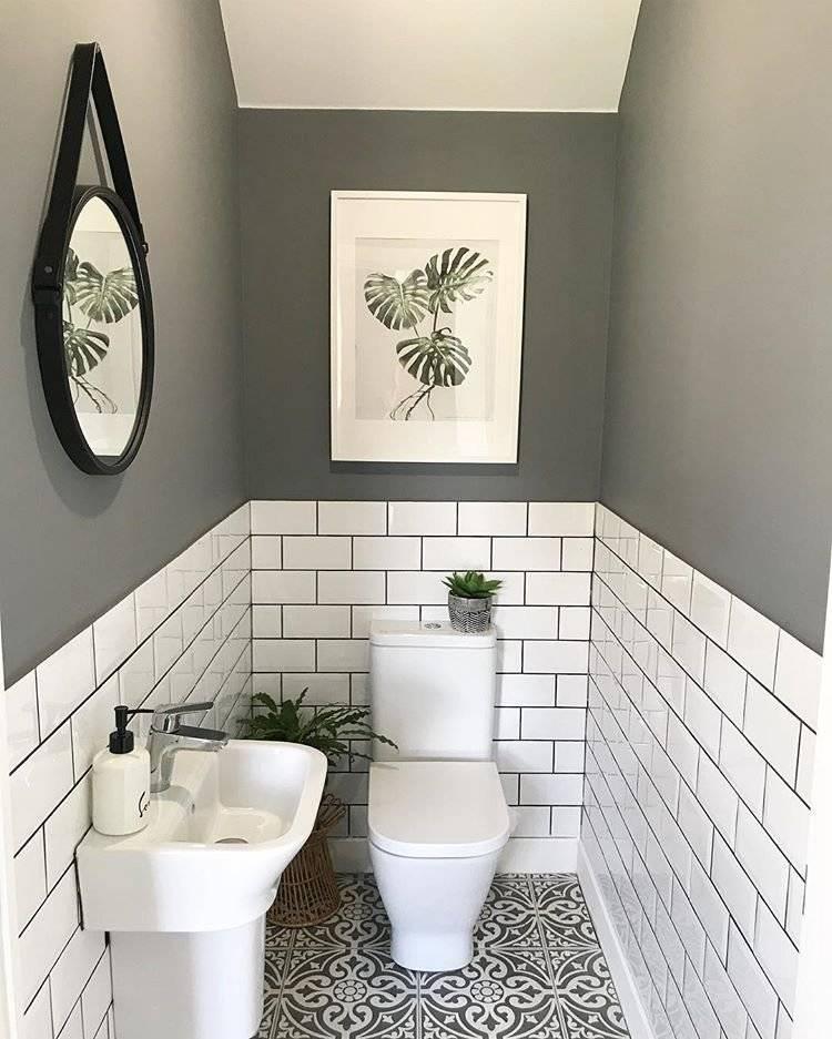 Плитка в туалете: виды и идеи дизайна