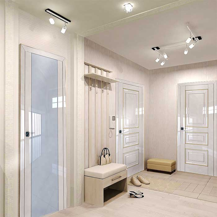 Белые двери в интерьере + 75 фото идей дизайна   дизайн интерьера своими руками