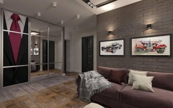 Жизнь удалась: холостяцкая квартира в стиле фьюжн