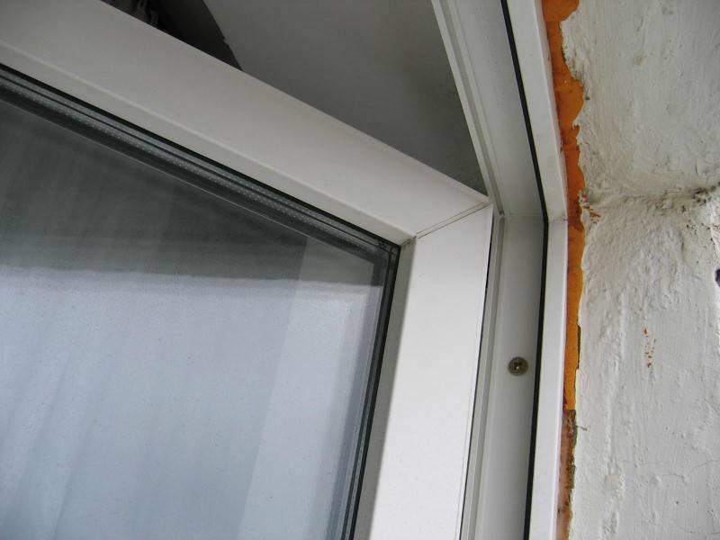 Чем замазать откосы на окнах внутри - пвх окна, балконы, остекление, аксессуары