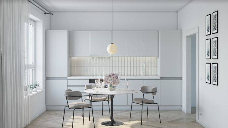 Белая кухня (100 фото): дизайн интерьера, красивые идеи, ремонт и отделка