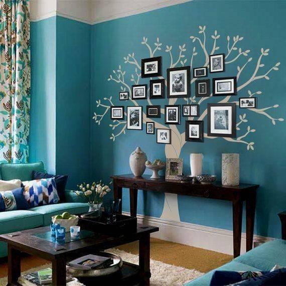 100+ лучших идей !!!   декор стен своими руками (75 фото)
