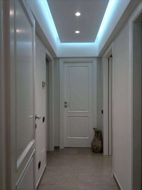 Потолок в коридоре фото дизайнов