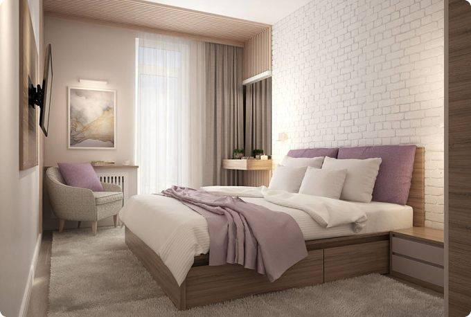 Спальня 14 кв. м