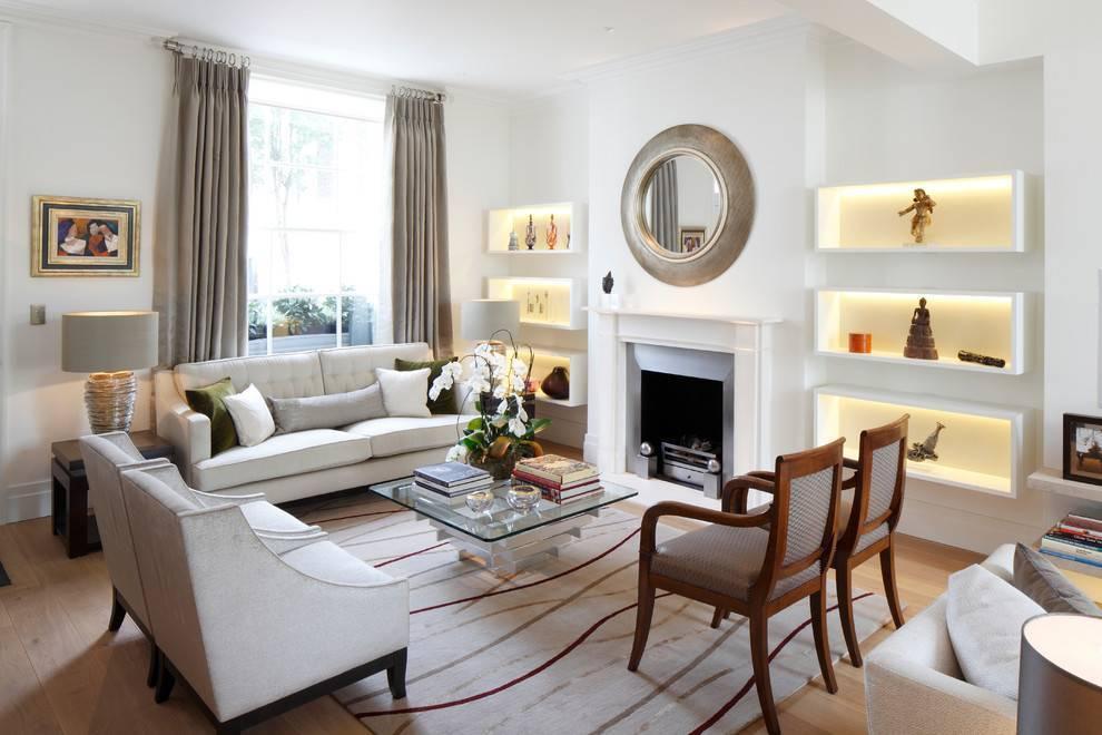 Люстра и светильники для гостиной в современном стиле: советы по выбору идеального варианта