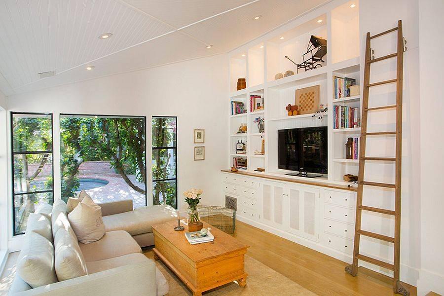 Стенка для гостиной, как выбрать модули, стили и цвет