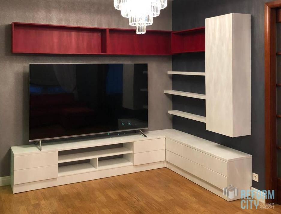 Шкаф в гостиную: 70+ фото, дизайн, современный идеи для зала
