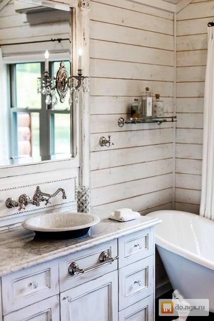 Ванная шебби шик: как создать стильный дизайн ванной комнаты