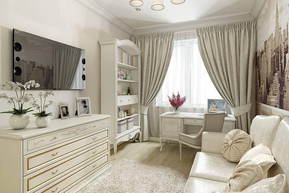 Разные стили детской комнаты для девочки и их актуальность