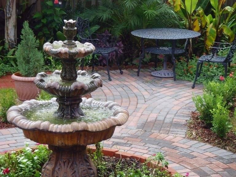 Лучшие садовые фонтаны - 110 фото и видео советы как выбрать декоративные фонтаны