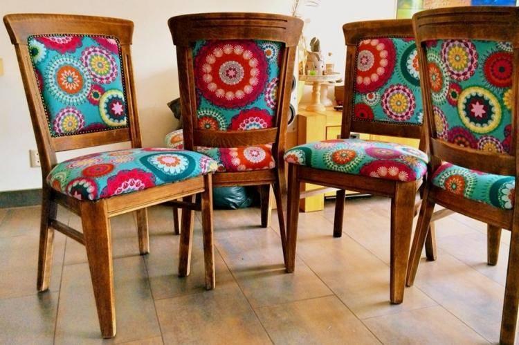 Как обновить старые стулья: декор и реставрация (70 фото)