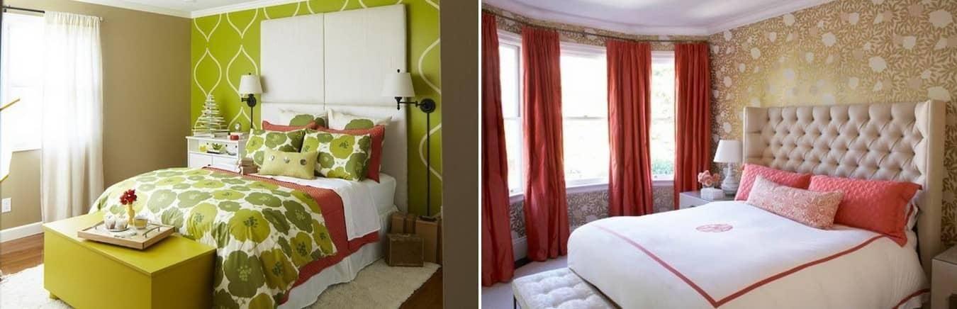 Спальня в голубых тонах - оригинальные идеи интерьера, возможные сочетания цветов в дизайне + фото