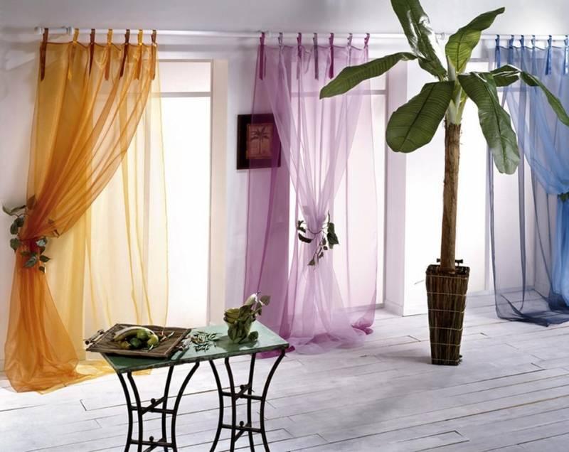 Оформление штор: 108 фото завершающего штриха в обустройстве дизайнерского помещения