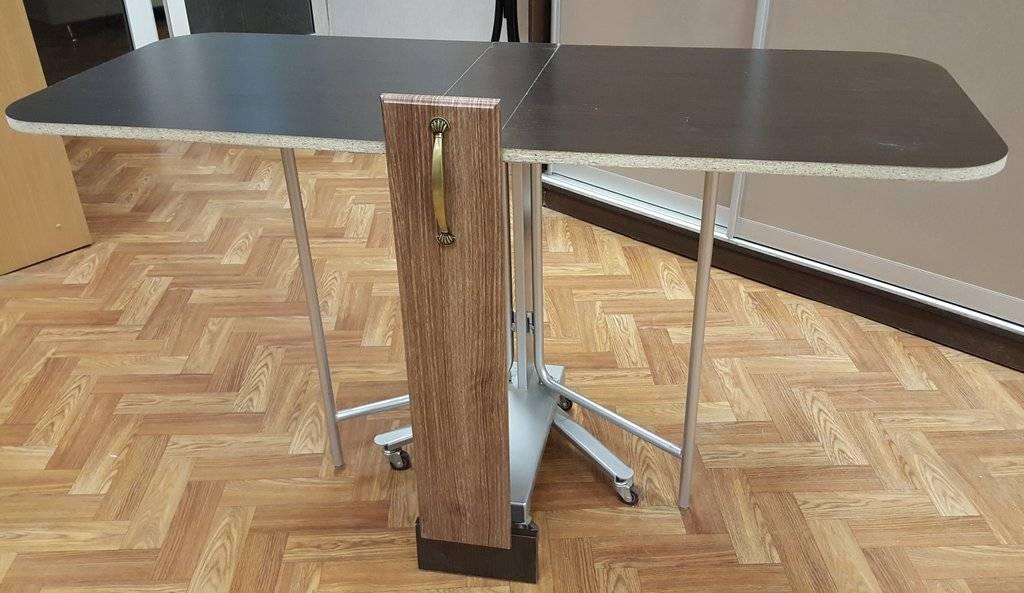 Складные барные стойки трансформеры на кухню: принцип работы механизма и фото