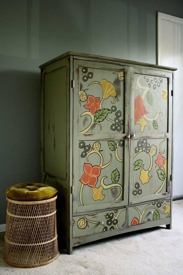 Декорирование мебели своими руками, обзор интересных методов