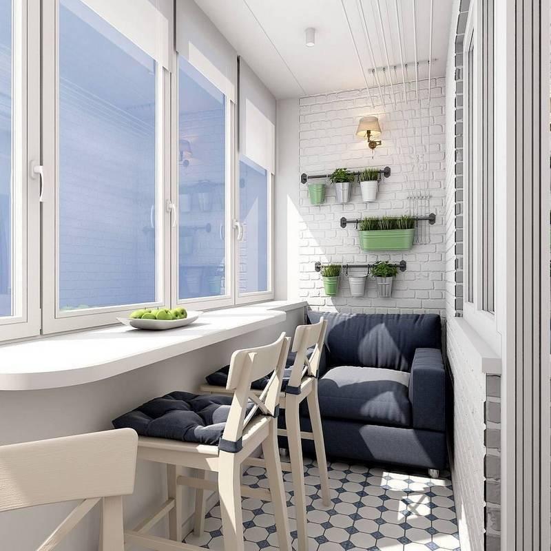 Дизайн маленького балкона +75 фото примеров интерьера - «интерьер балкона» » «дизайна интерьера»