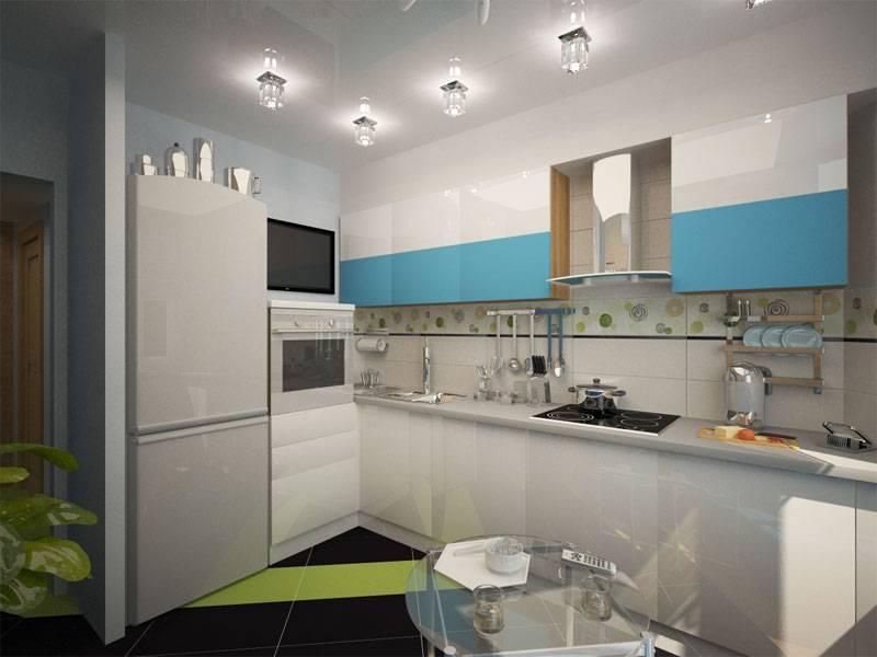 Выбор дизайна: кухня п44т с эркером