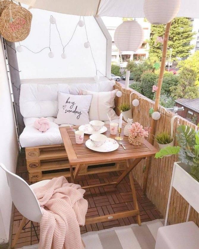 Маленький балкон – практичные и стильные варианты оформления. инструкции + 90 фото-идей