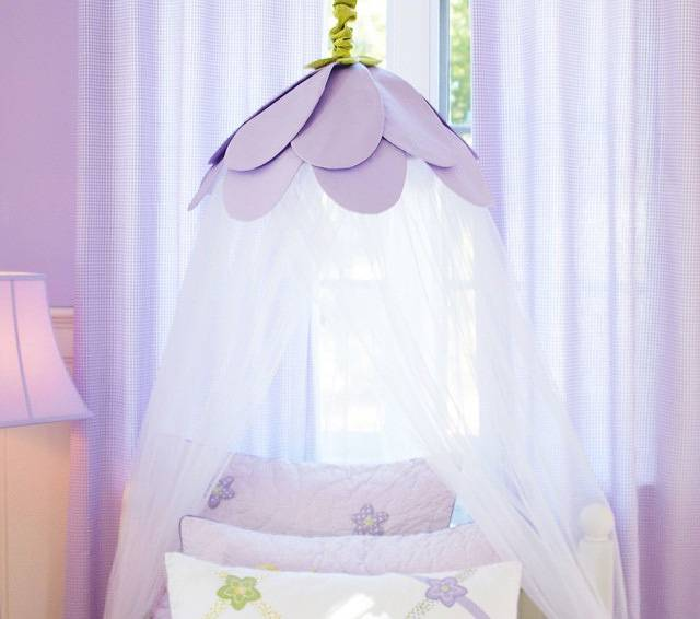 Балдахин на детскую кроватку — как выбрать и оформить в интерьере? (50 фото)