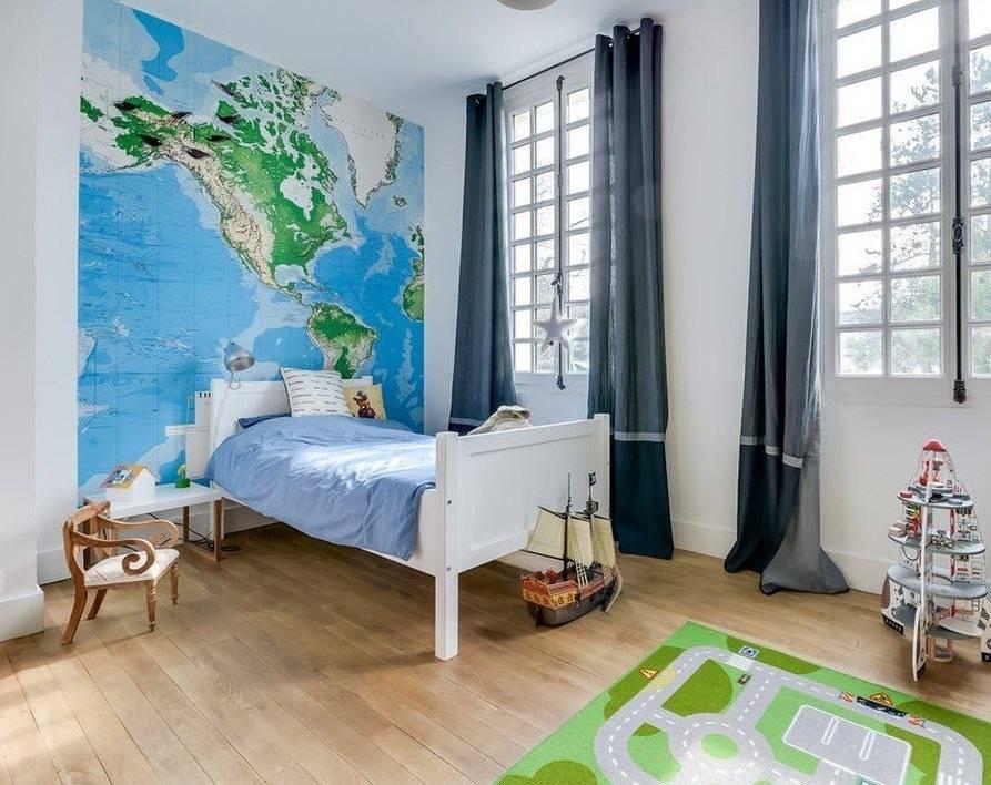 Оформление детской комнаты (50 фото) - современные идеи декора