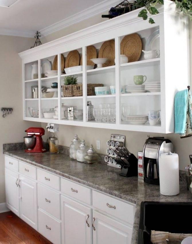 Полки для кухни: 80+ фото, идеи открытых, закрытых, навесных конструкций