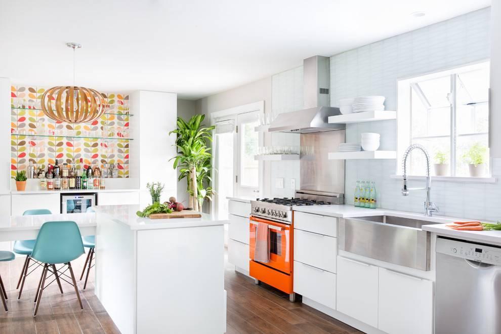 Белые глянцевые кухни: секреты гармоничного оформления и 80+ фото вдохновляющих интерьеров — дом&стройка