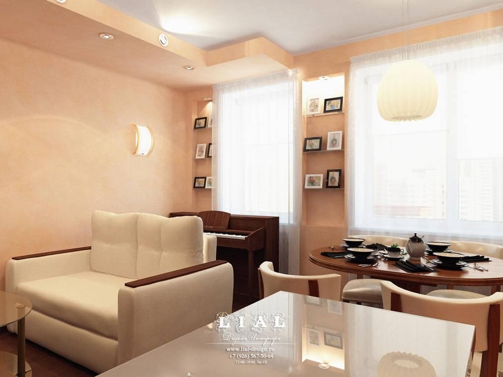 Ремонт двухкомнатной квартиры 60 кв. м: нюансы, планировка, советы