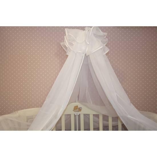 Балдахин на детскую кроватку своими руками: пошаговая инструкция с фото