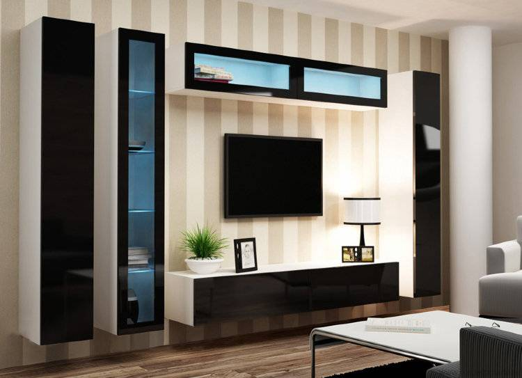 Угловой шкаф в гостиную: 50+ фото, современные идеи дизайна