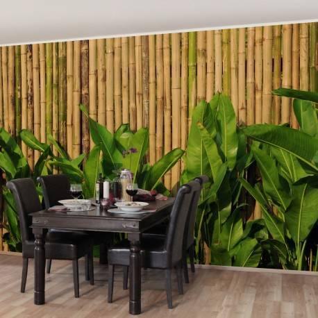 Достоинства и недостатки бамбуковых обоев |