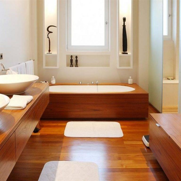 Пол в ванной в деревянном доме - как сделать правильно