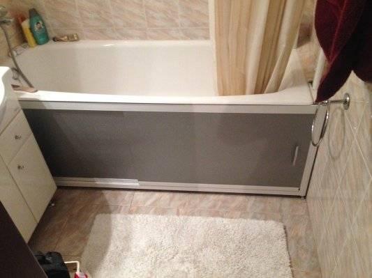 Раздвижные экраны для ванной. виды конструкций и советы по выбору
