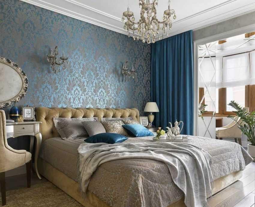 Спальня в зеленых тонах, 16 фото идей дизайна интерьера