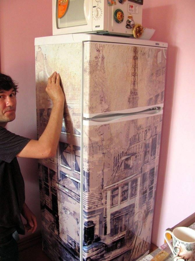 Как обклеить шкаф самоклеющейся плёнкой