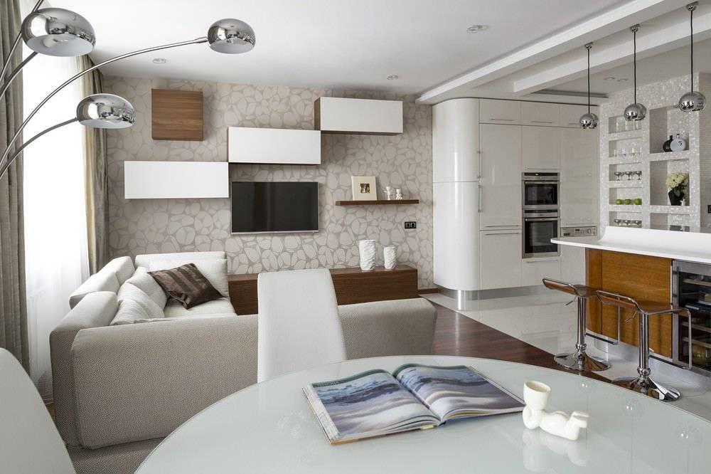 Дизайн кухни-гостиной 15 квадратов: 75 фото дизайнерских идей