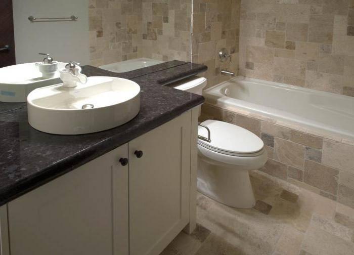 Какую столешницу в ванную под раковину купить— советы по выбору и установки