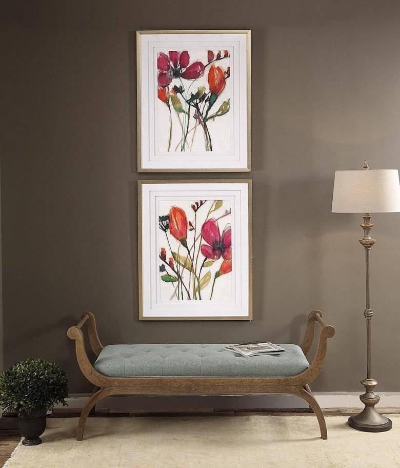 Картины в прихожую: 50+ фото на стенах в коридоре, красивые идеи оформления