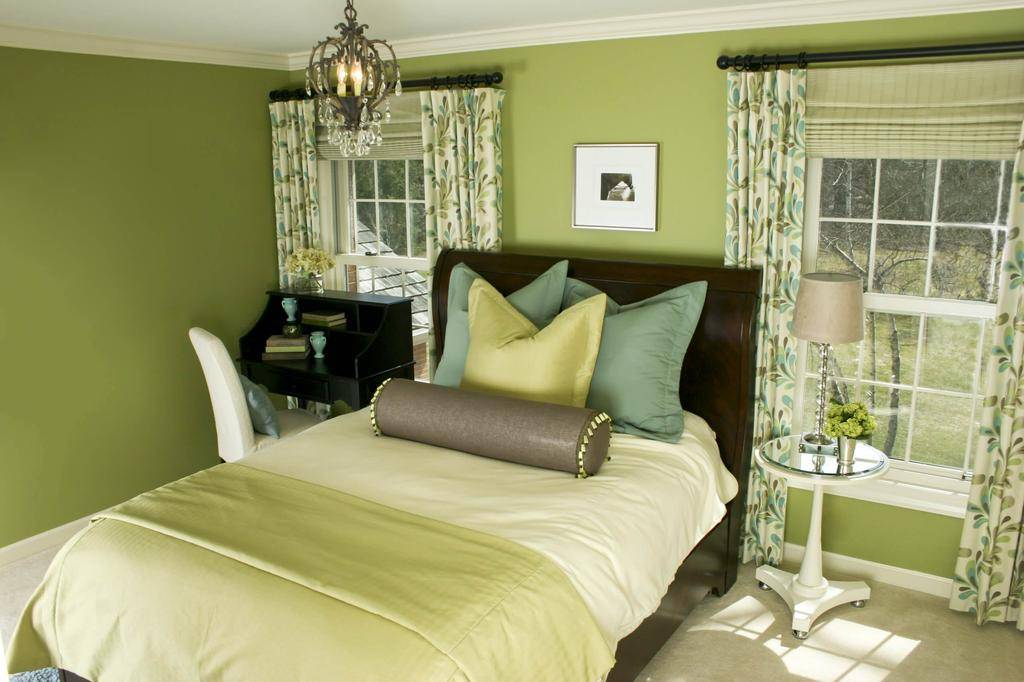 Цвет и обои спальни по фен-шуй     управление судьбой