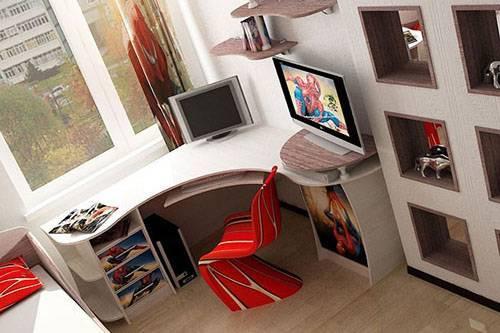 Детская стенка со столом и шкафом (42 фото): письменные и компьютерные варианты для школьника