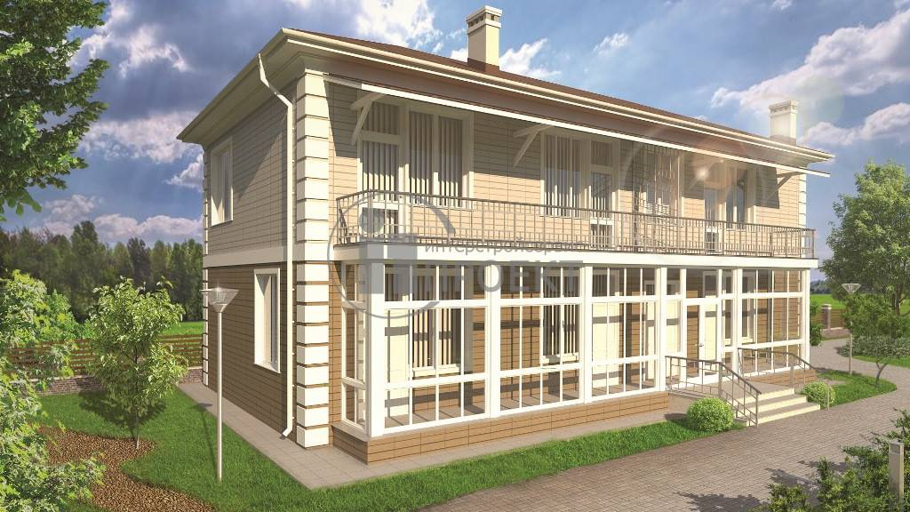 Проекты домов с эркером и террасой — изучаем по пунктам