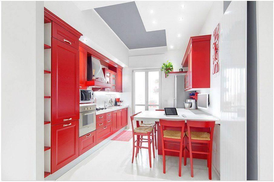 75 комбинаций красного с другими цветами в интерьере