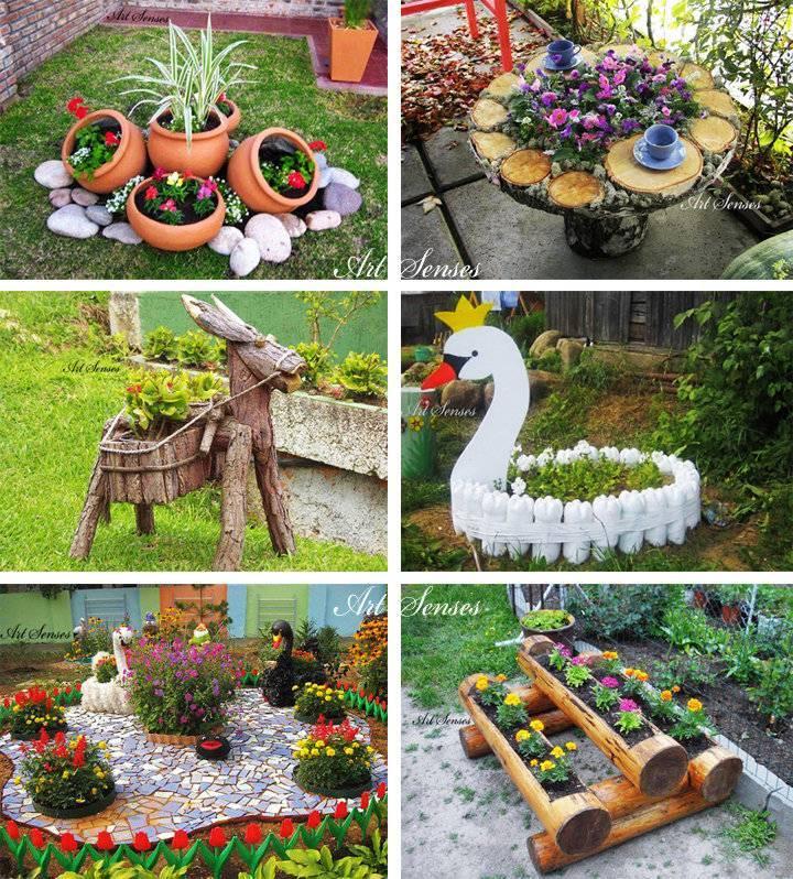 Как красиво оформить сад и огород на даче?