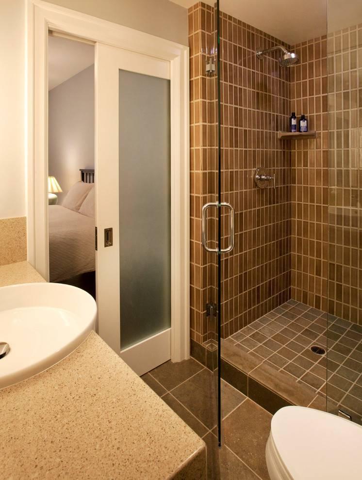 Ванная с душевой: варианты размещения, стильные идеи и оригинальные решения оформления ванной (130 фото)