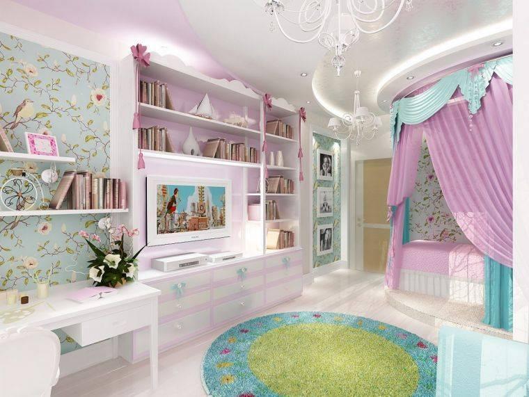 Детские спальни для мальчика и девочки. 100 фото лучших идей и новинок дизайна