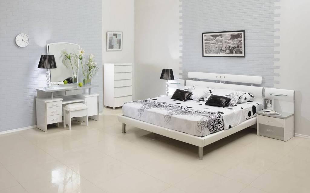 Спальня в белых тонах - 200 фото новинок дизайна белой спальни